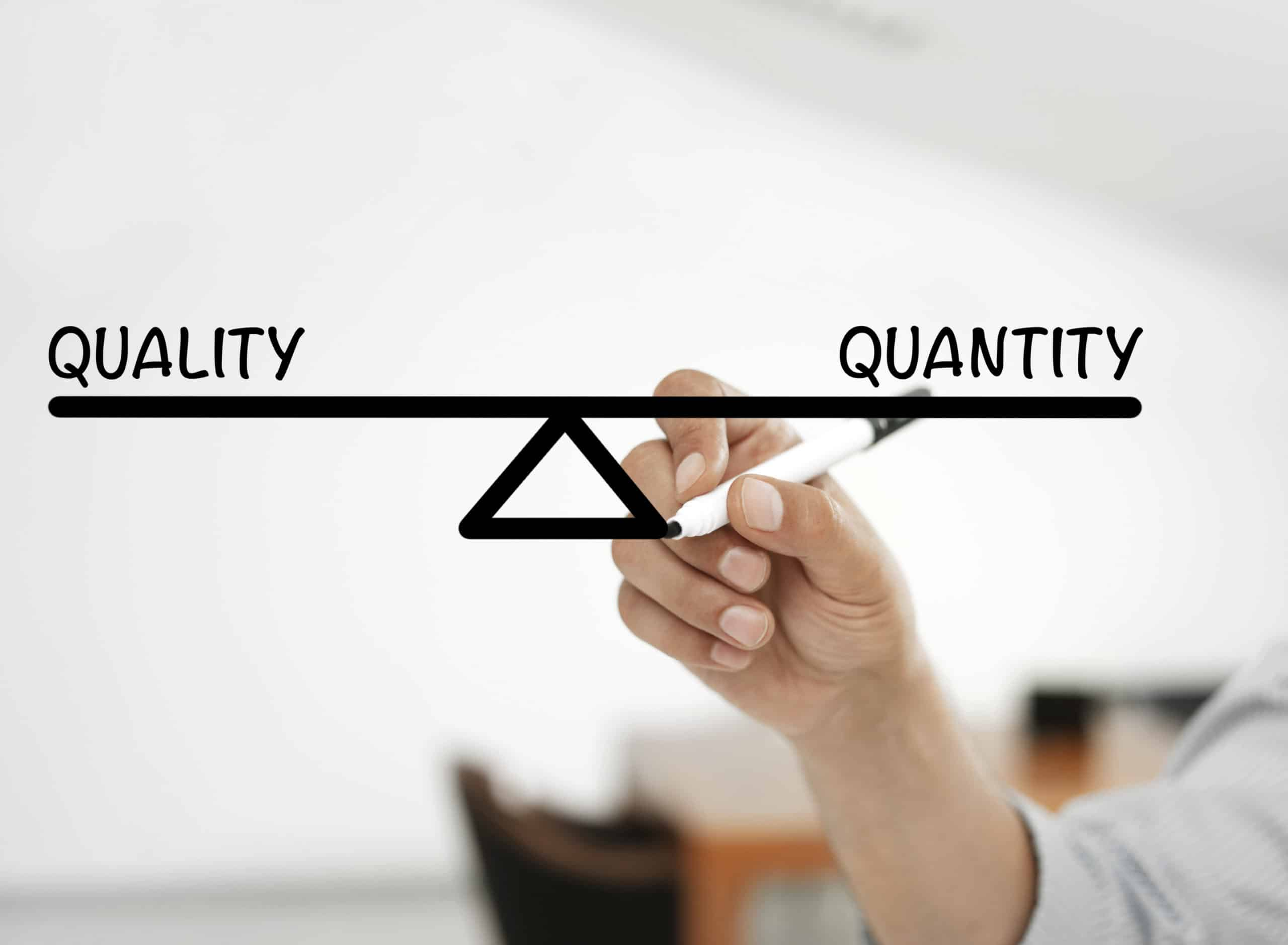 Content Quality Vs. Content Quantity – The Great Content Debate