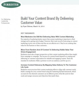 Content Marketing Must Focus On Customer Value