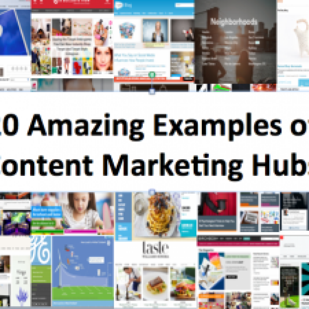 20 Amazing Examples Of Brand Content Marketing Hubs