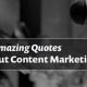 29 Amazing Content Marketing Quotes To Inspire You