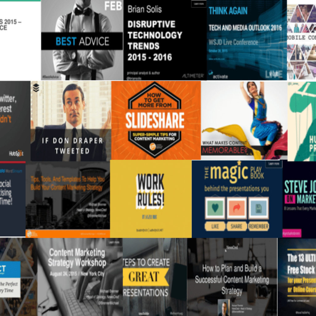 Check Out The 20 Best Slideshare Presentations of 2015