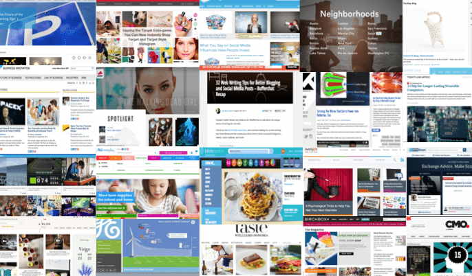 99 Amazing Content Marketing Hub Examples