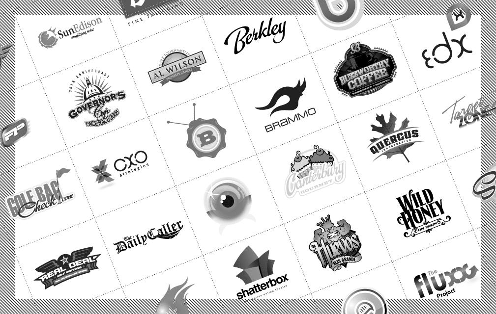 A Few Techniques of Logo Design