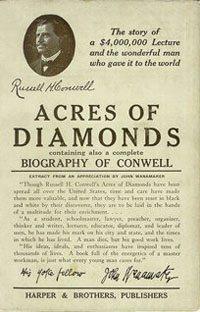 """the book """"acres of diamonds"""""""