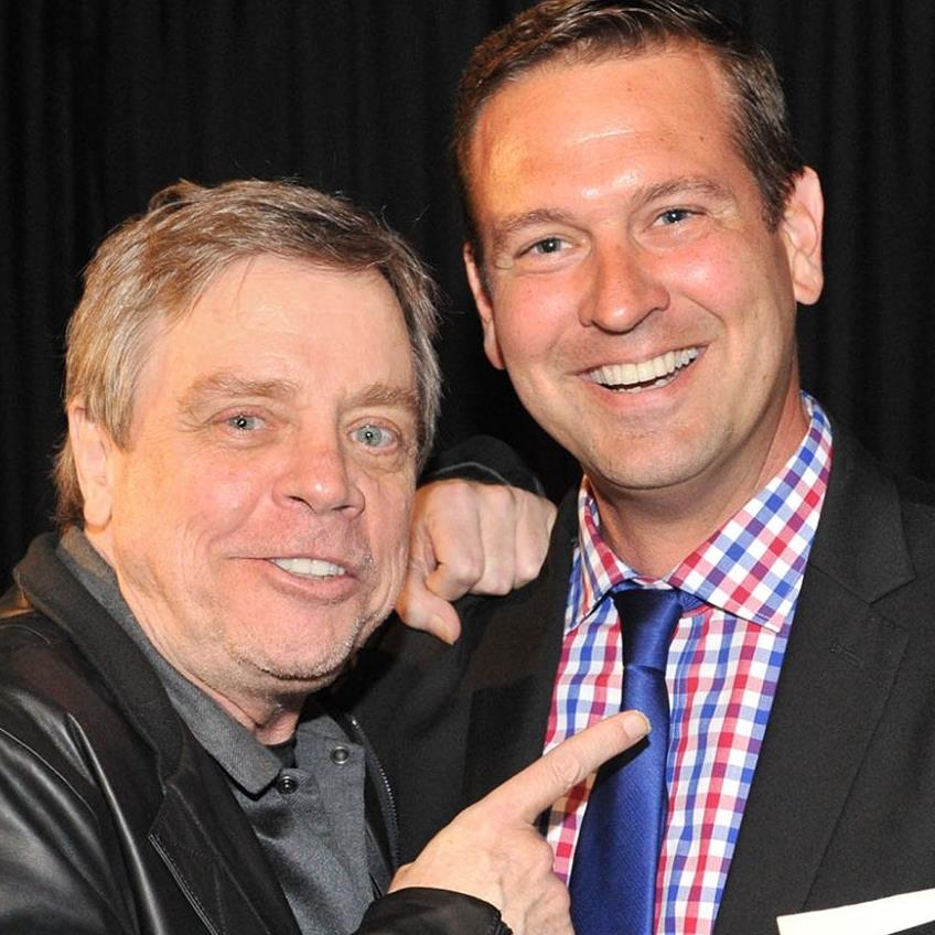Michael Brenner with Mark Hamill