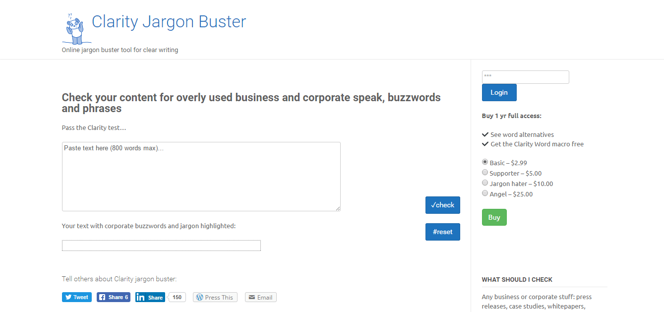 clarity-jargon-buster