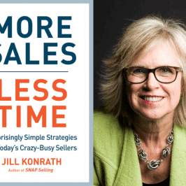 "Weekend Reading: ""More Sales, Less Time"" by Jill Konrath"