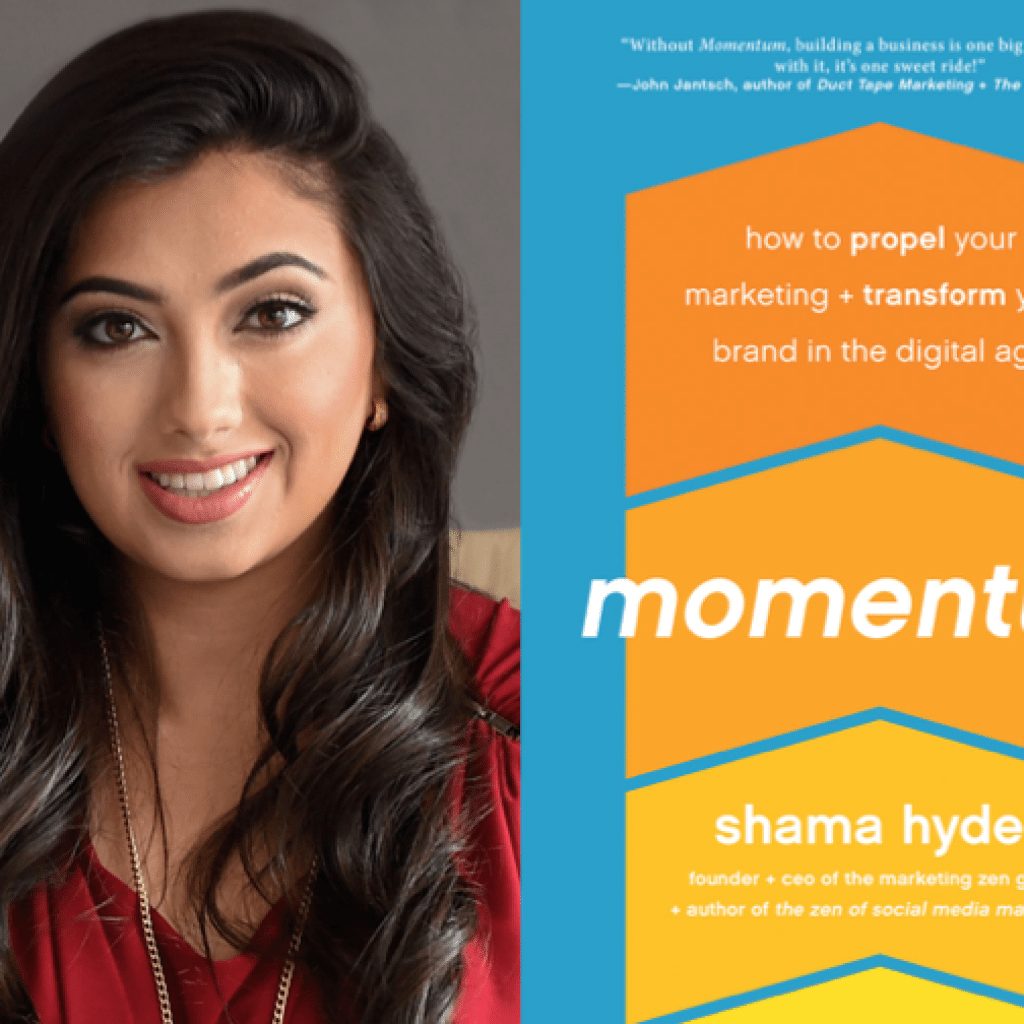 "Weekend Reading: ""Momentum"" by Shama Hyder"