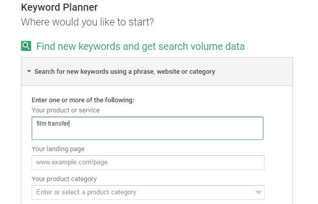 SEO Driven Keyword Research