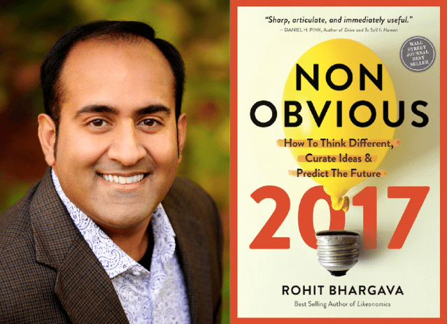 Rohit Bhargava Non-Obvious 2017