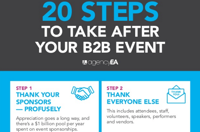 20 steps for your next b2b event
