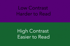 High-vs-Low-Contrast