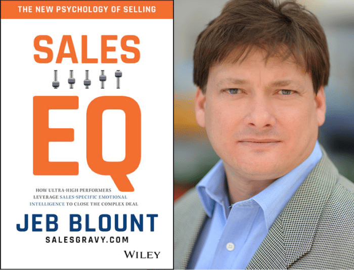 "Weekend Reading: ""Sales EQ"" by Jeb Blount"
