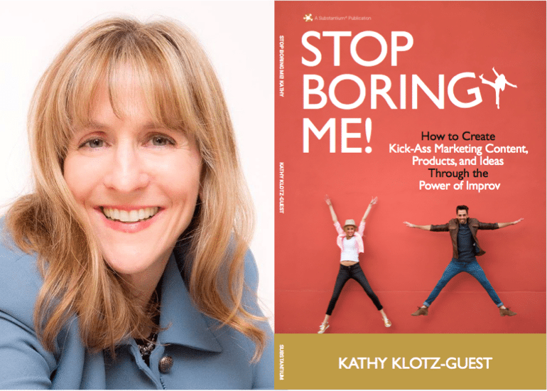 "Weekend Reading: ""Stop Boring Me!"" by Kathy Klotz-Guest"