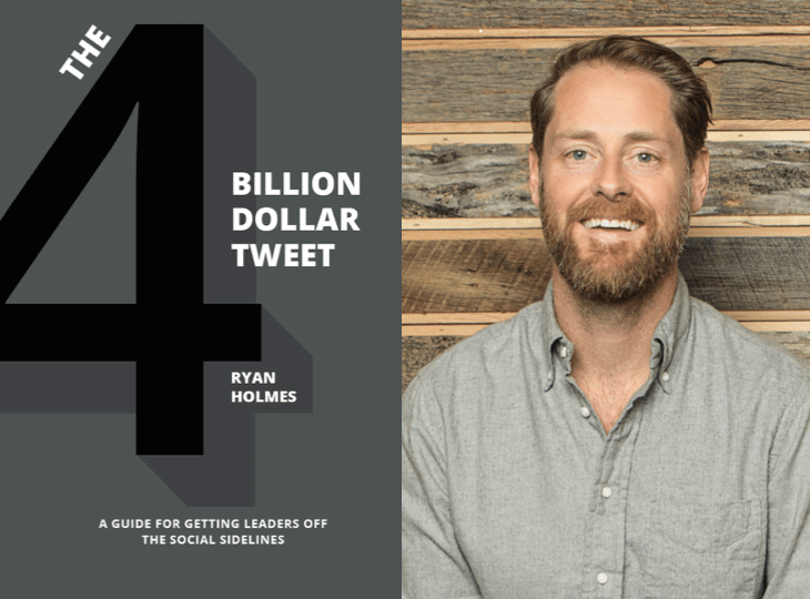 "Weekend Reading: ""The 4 Billion Dollar Tweet"" by Ryan Holmes"