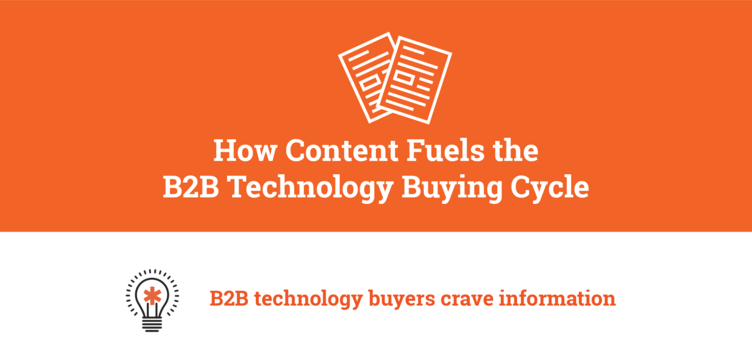 How Content Fuels the B2B Technology Buying Cycle [INFOGRAPHIC]