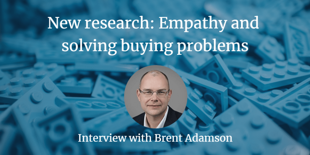 New Research: Empathy and Solving Buying Problems