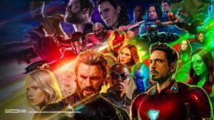 Avengers: Infinity War Desktop Wallpaper for content marketing post