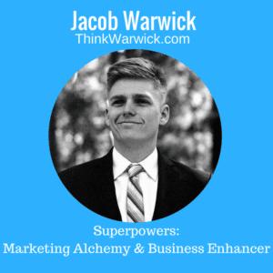 Jacob Warwick, Founder, Managing Director - Brand & Marketing Strategist, ThinkWarwick Communications