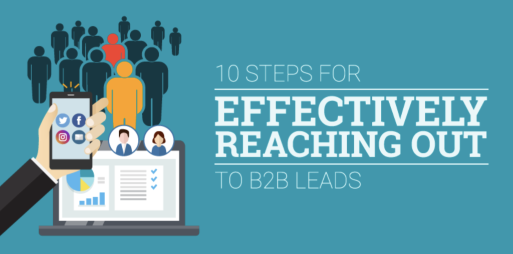 10 Steps for Effectively Reaching Out to B2B Leads [Infographic]