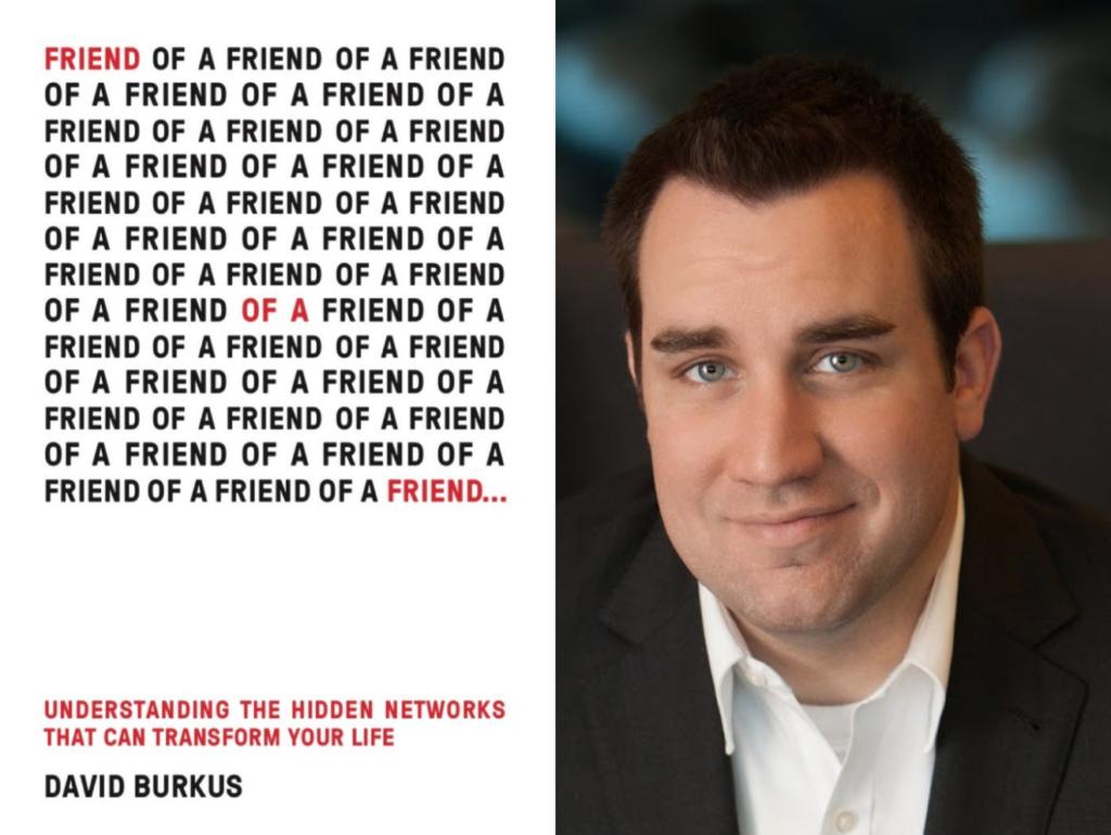 """Weekend Reading: """"Friend of a Friend"""" by David Burkus"""