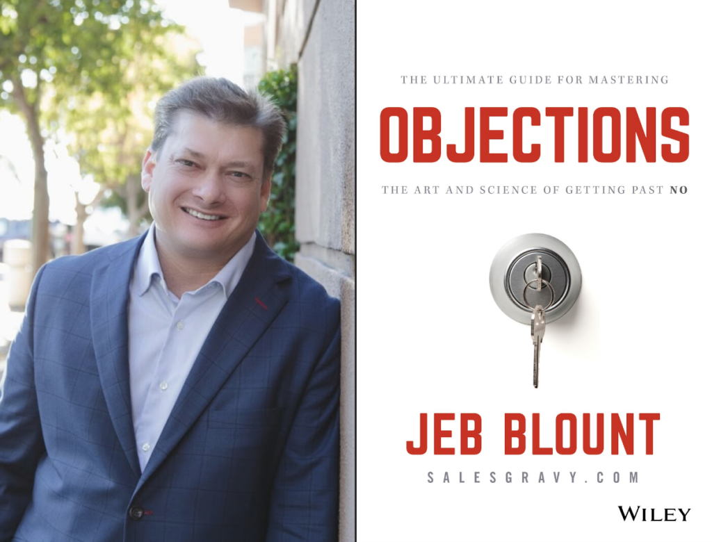 "Weekend Reading: ""Objections"" by Jeb Blount"
