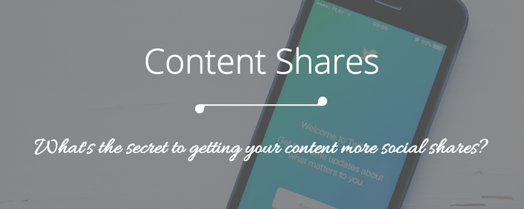 3 Reasons Why No One Is Sharing Your Content