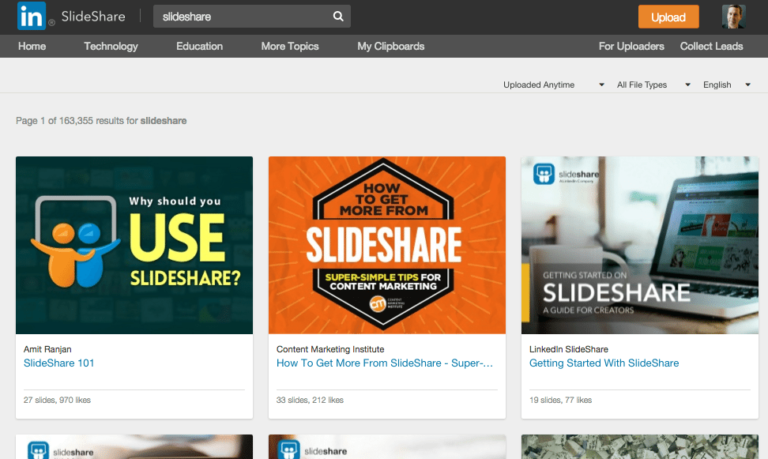 Slideshare Is The Biggest Opportunity In B2B Content Marketing
