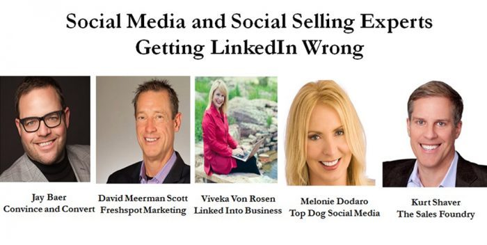 How Even Social Media & Social Selling Experts Are Getting LinkedIn Wrong – Part 1