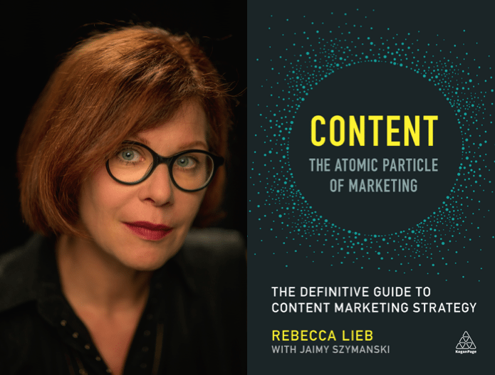 "Weekend Reading: ""Content - The Atomic Particle of Marketing"" by Rebecca Lieb"