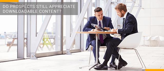 Do Prospects Still Appreciate Downloadable Content?