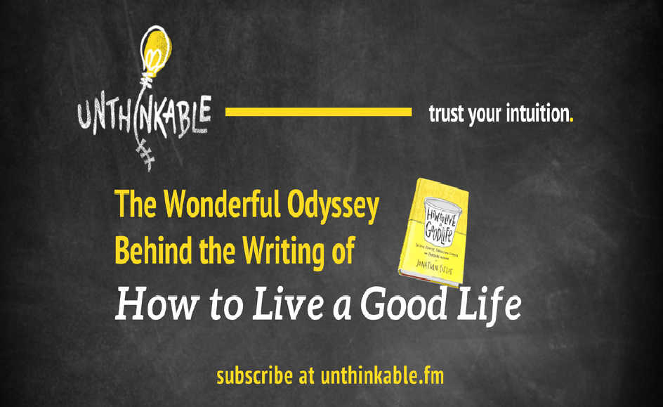 The Weird & Wonderful Odyssey Behind the Writing of an Ambitious Book