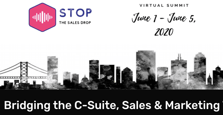stop the sales drop summit