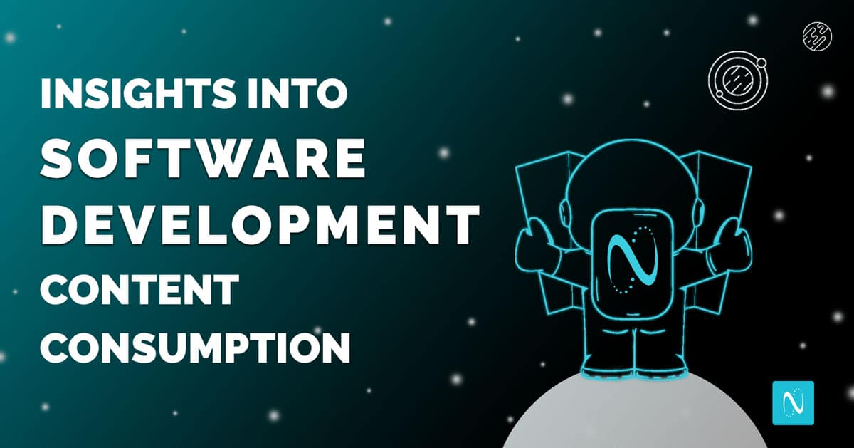 Insights from Content Consumption Patterns of Software Developer Segment
