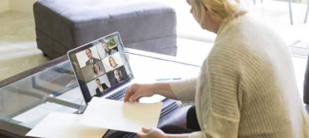 virtual events and webinars
