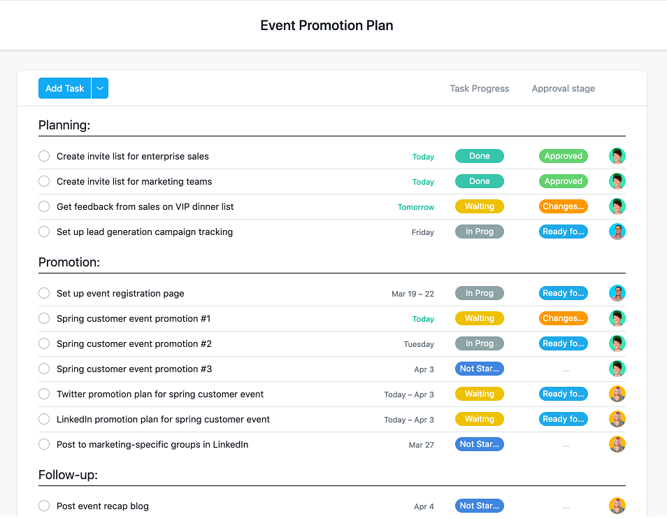 event promotion plan