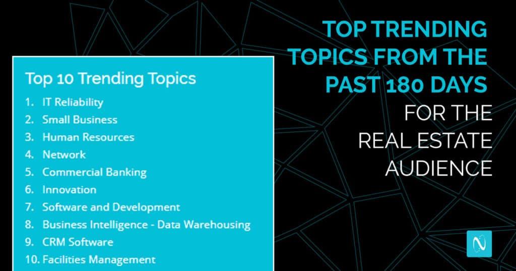 real estate trending topics