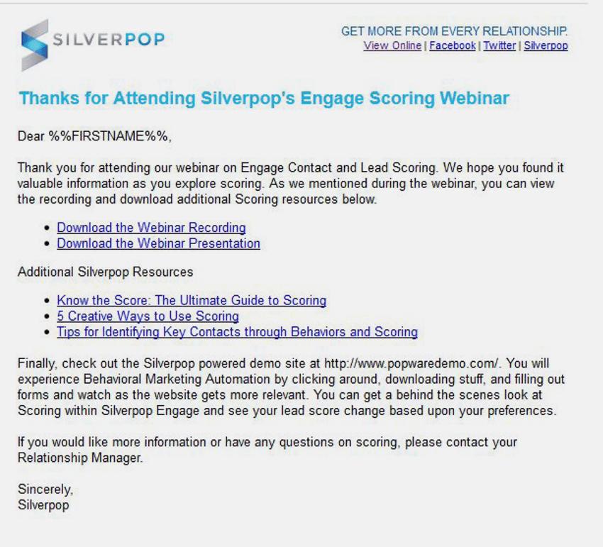 webinar follow-up email