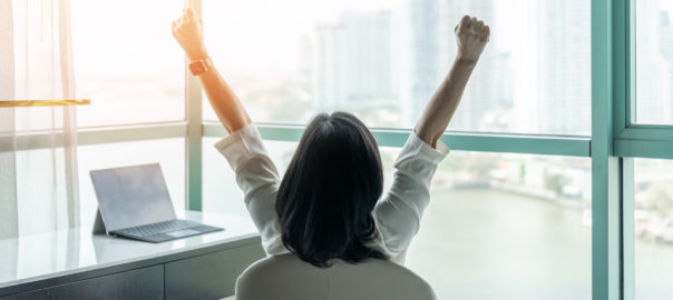 celebrating content marketing success