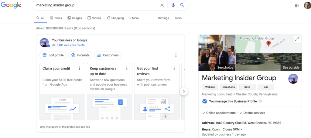 get your business added to google