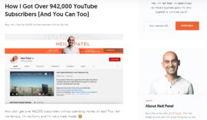 Neil Patel Example